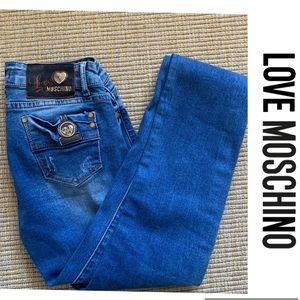 LOVE MOSCHINO Jeans Pants Cheap + Chic SZ 28